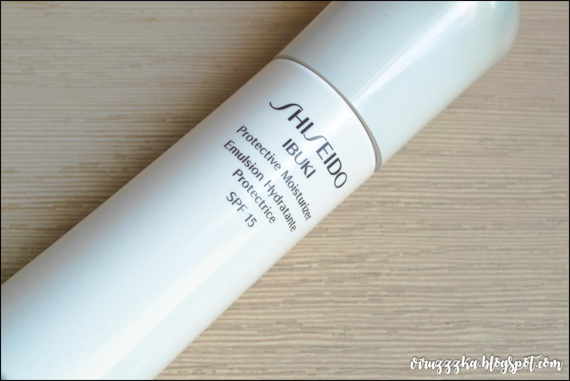 Shiseido Ibuki Protective Moisturizer SPF 15 Review