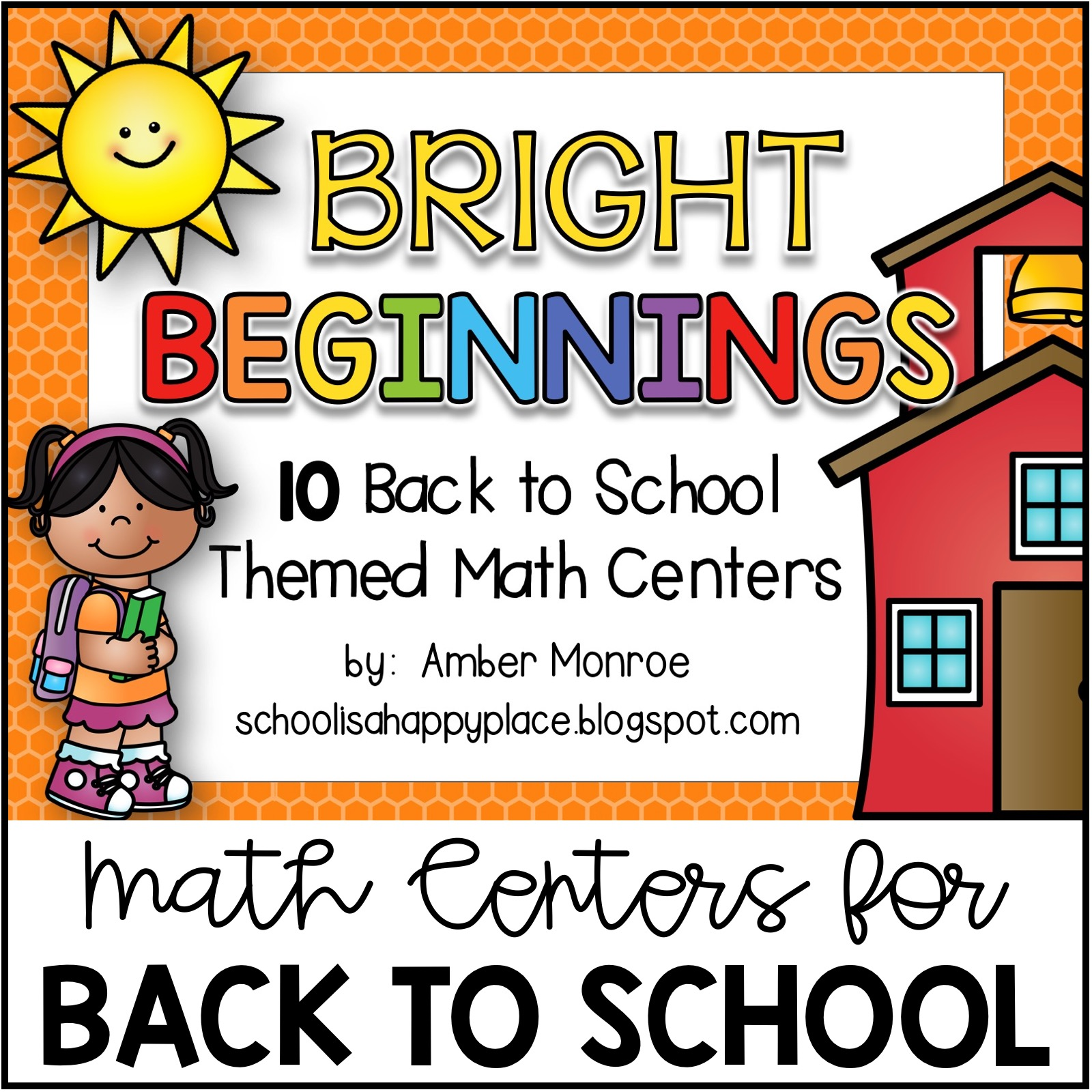 Math Centers for Back to School