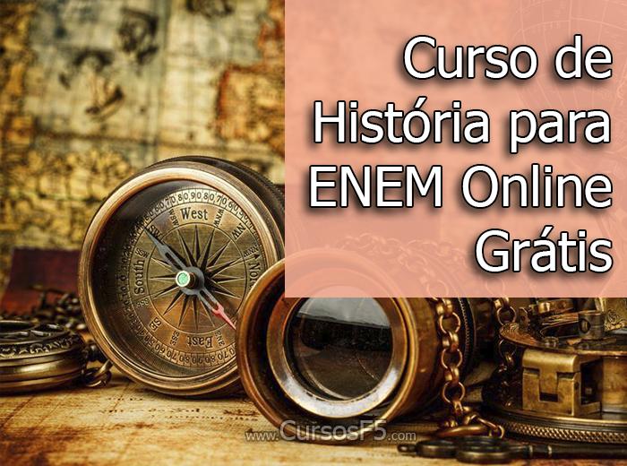 Curso de História para ENEM Online Grátis