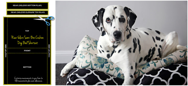 How to make a fitted dog bed cover