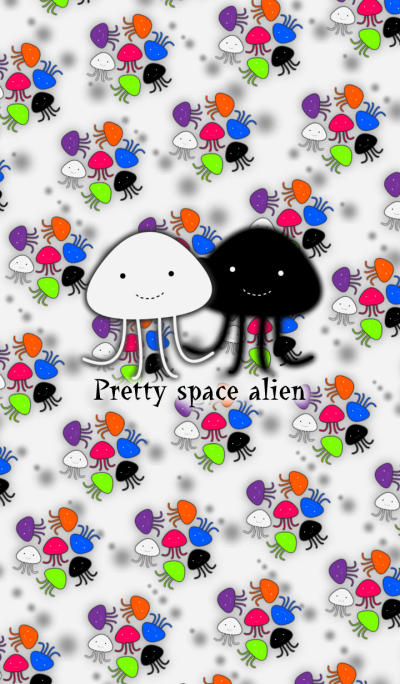 Pretty space alien