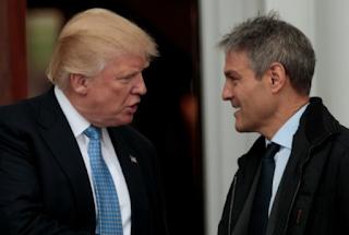 Trump Meets With Talent Agent Ari Emanuel, BET Founder