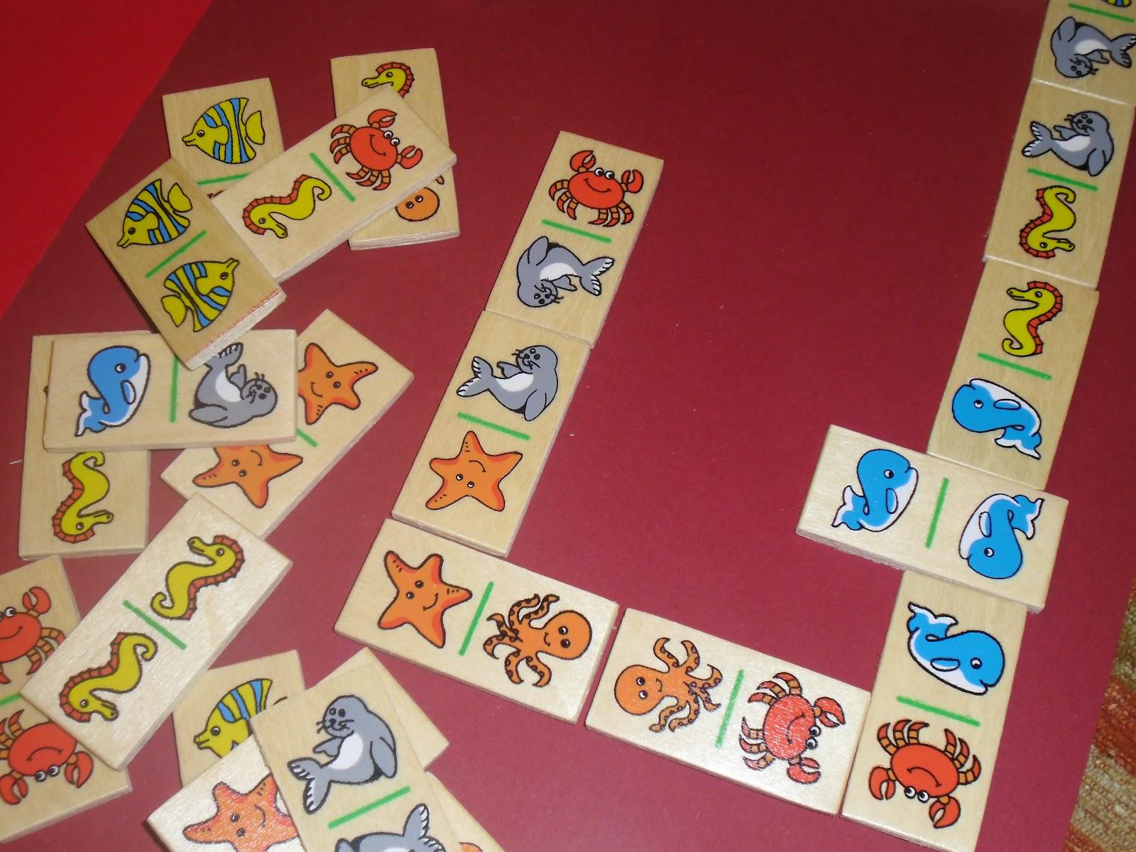 La Jirafa 35 Domino Animales Del Oceano