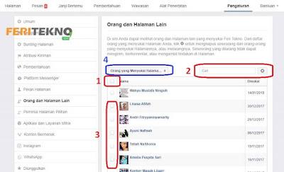mengeluarkan anggota dari halaman facebook - feri tekno