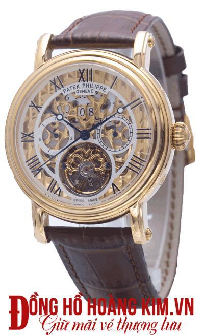 đồng hồ nam dây da mặt tròn giá rẻ