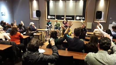 """Panel """"Hablemos de Educación"""" por Mario Aguilar, Marcos Cleri y Andrea Novotny"""