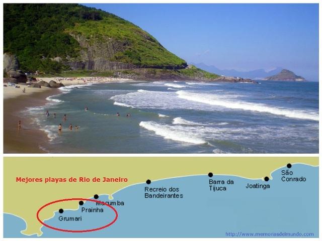 Como llegar desde Rio de Janeiro a Prainha y Grumari