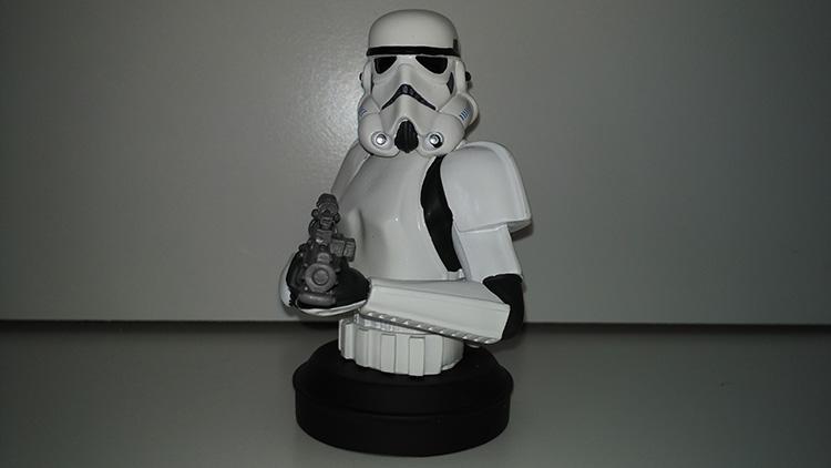 Stormtrooper colección de Bustos Star Wars de Planeta DeAgostini