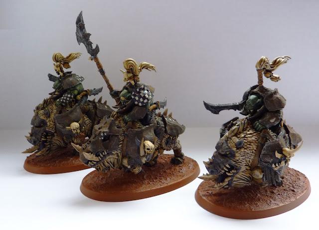 Ironjawz Gore-Gruntas for Warhammer Age of Sigmar