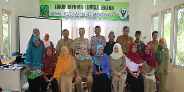 Lokakarya Mini Lintas Sektor Kecamatan Paloh