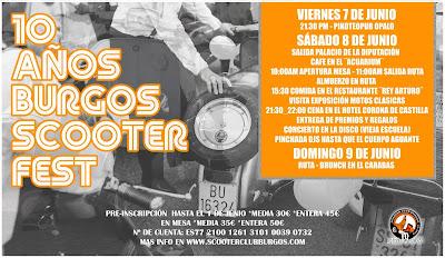 10 Burgos Scooter Fest