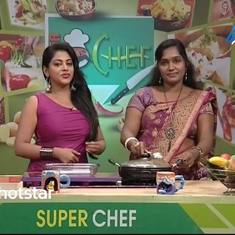 Super Chef anchor Niranjana latest photos