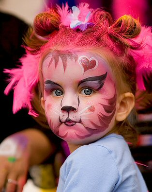 girls face paint pictures