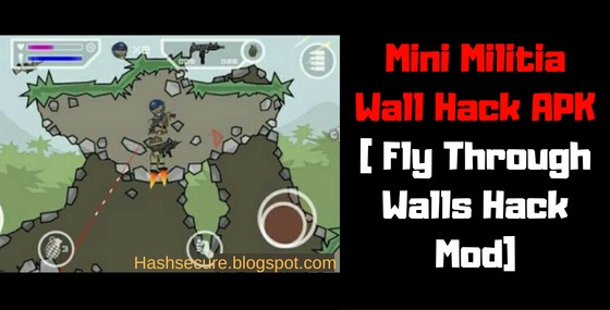Download Mini Militia Wall Hack APK | Fly Through Walls Hack Mod -  2020