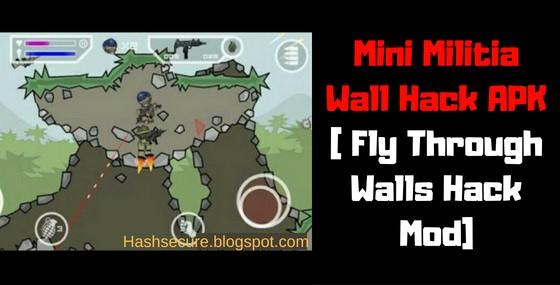 Download Mini Militia Wall Hack APK | Fly Through Walls Hack Mod -  2020