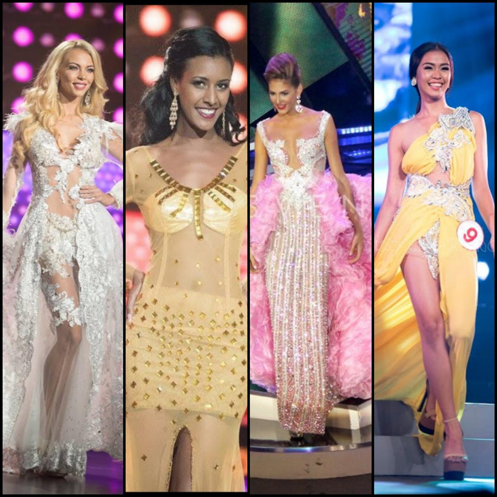 Beauty Pageant Gowns