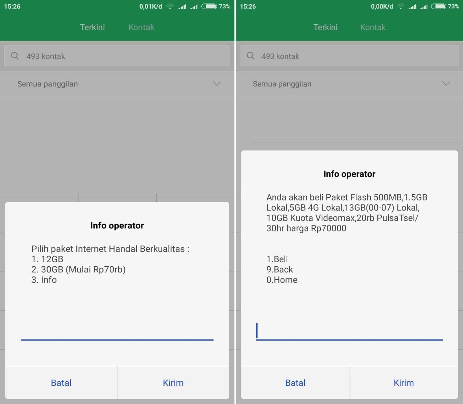 Kode Dial Terbaru Paket Internet Telkomsel Simpati 4g Murah 30gb 12gb Hanya 70000