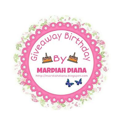 Giveaway Birthday Tuan Blog Dan Blog Anugerah Terindah