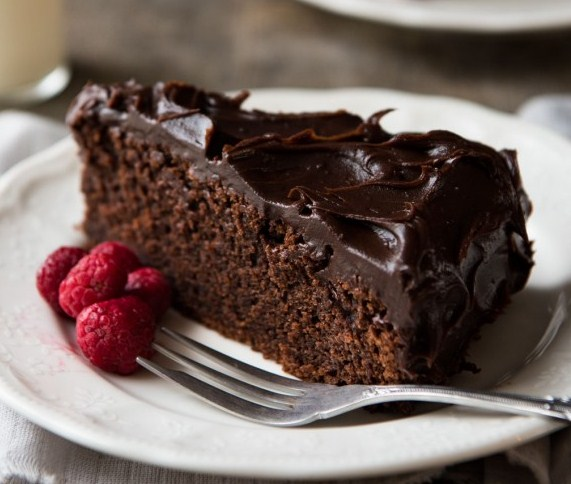 Easy chocolate fudge cake cake and food recipe for Simple chocolate fudge cake