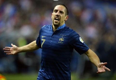 Franck Ribery vốn được đặc cách tham dự World Cup 2014.