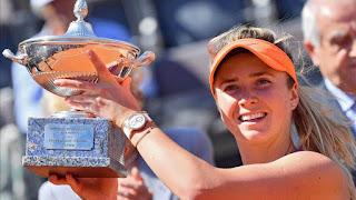 TENIS (Masters 1000 Roma 2017) - Svitolina sorprende a Simona Halep y se corona en Italia