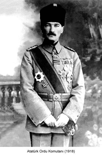 Atatürk Ordu Komutanı 1918 Fotoğraf