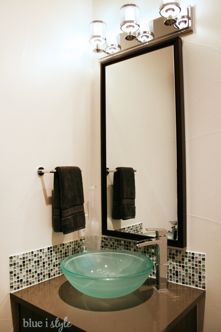 Modern & Bright Powder Room Makeover