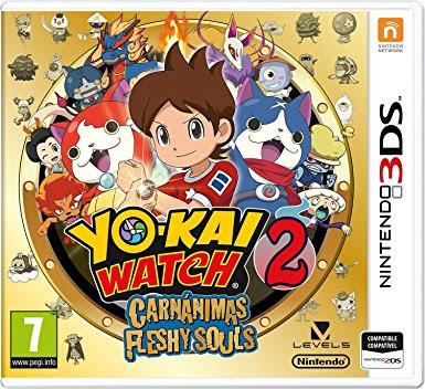 Yo Kai Watch 2 Fleshy Souls Decrypted 3DS USA