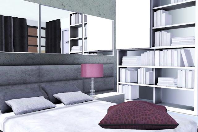 décoration chambre design sims 3