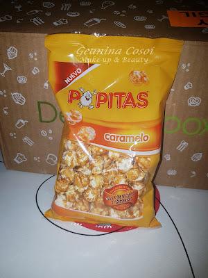 Popitas palomitas con caramelo Caja Degustabox - Octubre ´16