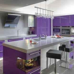 Purple Twilight Interior Designs House