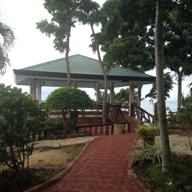 A Kiosk and activity area at Santiago Bay Garden and Resort