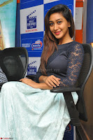 Shravya in skirt and tight top at Vana Villu Movie First Song launch at radio city 91.1 FM ~  Exclusive 43.JPG