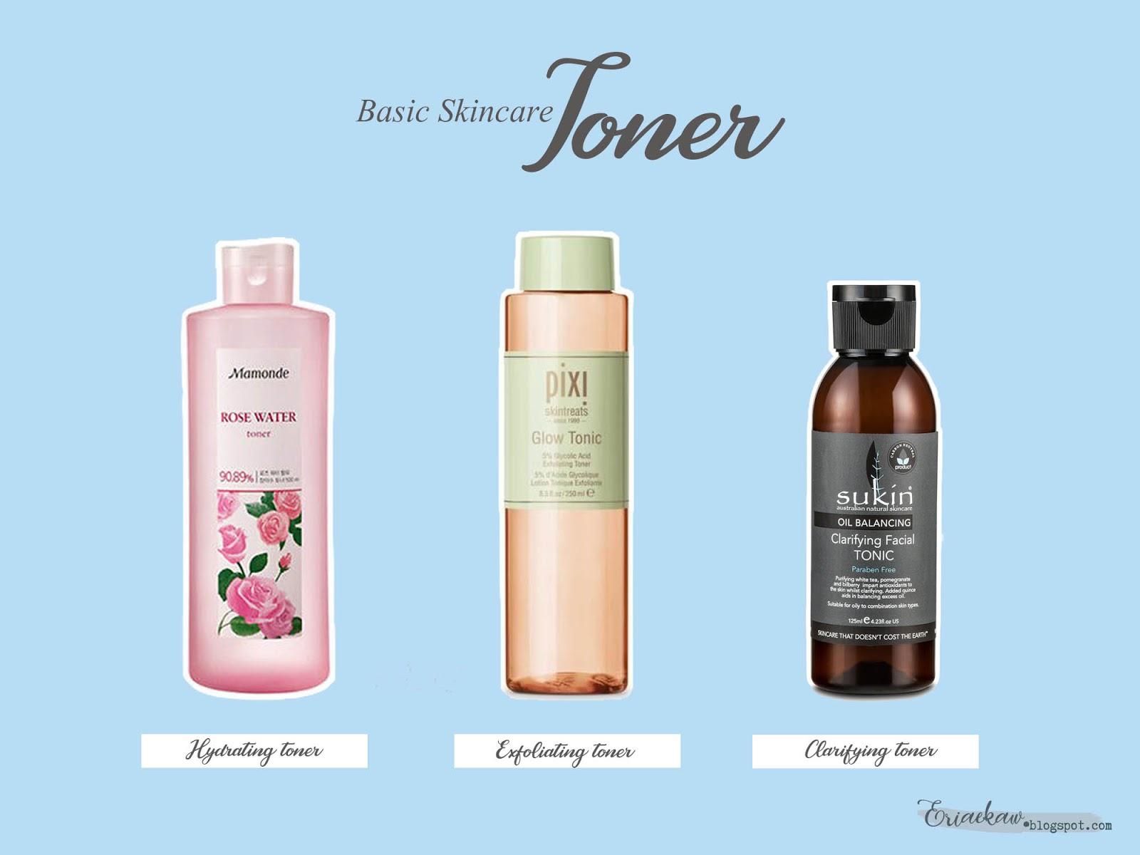 basic skincare toner