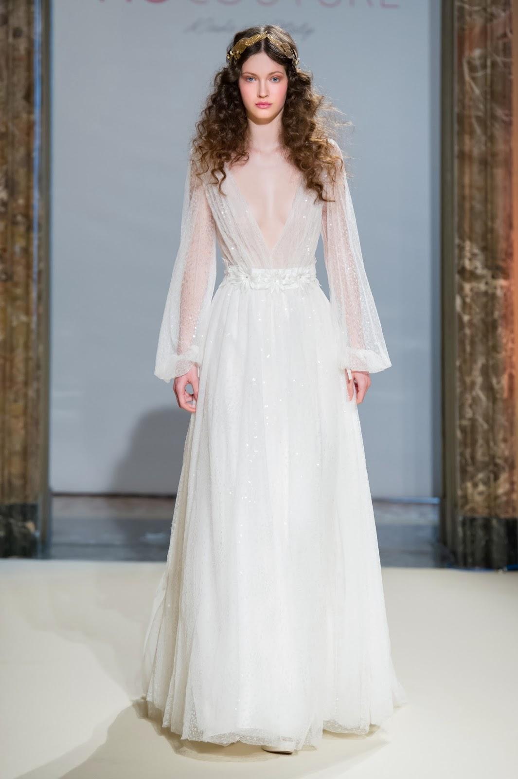 Estremamente Pazza Idea: Gli abiti da sposa anni '70 di Fiò Couture per il 2018 SI55
