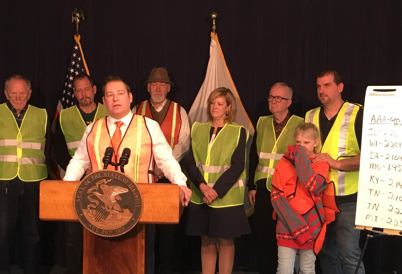 ... Representatives Allen Skillicorn and Jeanne Ives spoke out Tuesday against the idea of Illinois becoming the state with the largest tax on motor fuel at ...