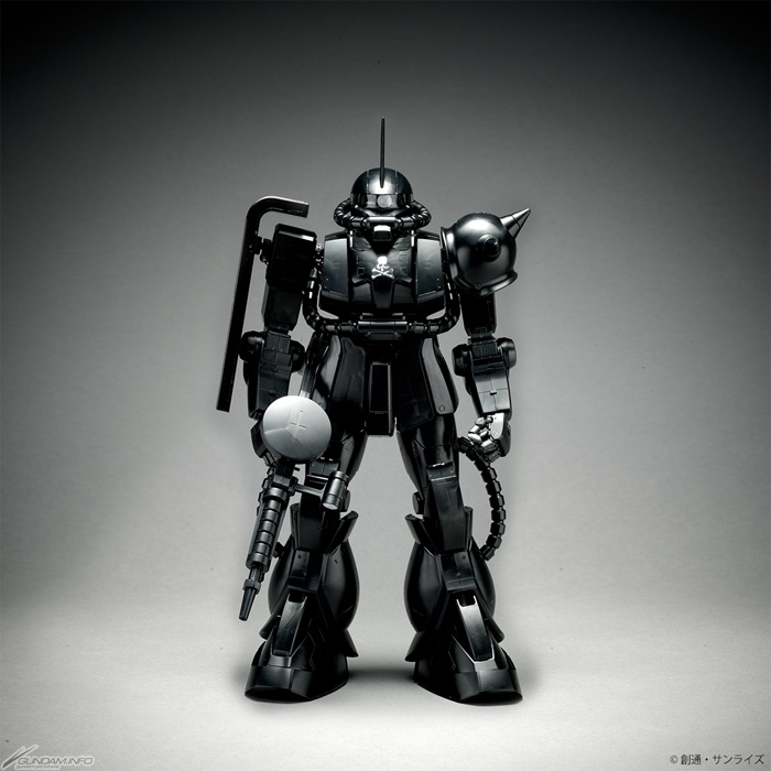 STRICT-G: PG 1/60 MS-06S Char's Zaku II [MASTERMIND JAPAN VER.] - Release Info - Gundam Kits Collection News and Reviews
