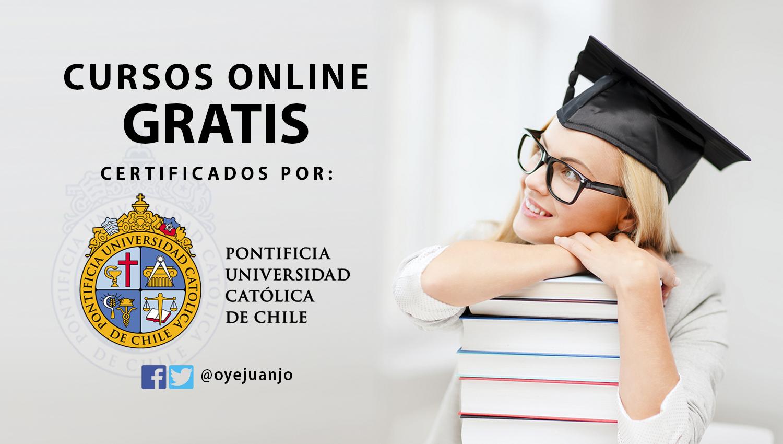 La Universidad Católica de Chile ofrece cursos online gratis y con certificados