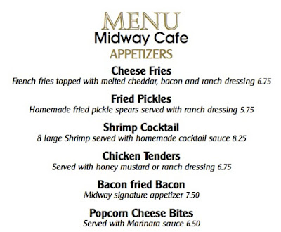 FORT THOMAS MATTERS: Midway Cafe Menu - Fort Thomas, Kentucky