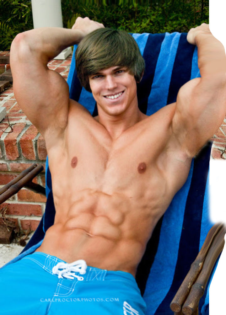 Naked Muscle Teen Boy
