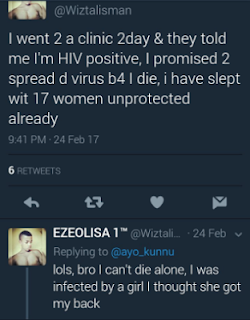 HIV Positive Nigerian Man Infects 17 Women, Promises To Infect More Befor He Dies 1