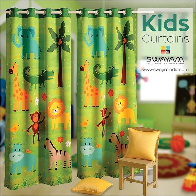 kids eyelet curtains