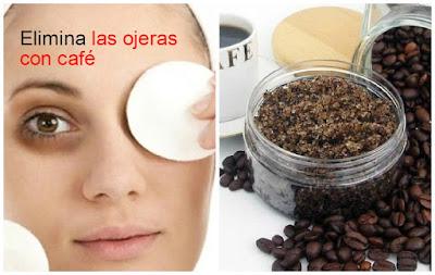 Mascarillas poderosas de café y aceite de oliva para eliminar las ojeras