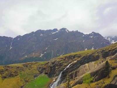 waterfall at Himalaya