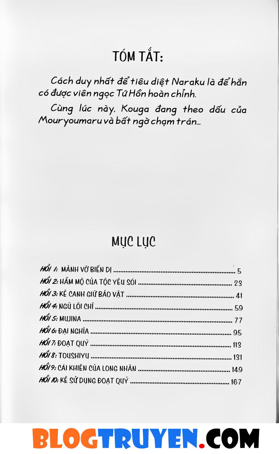 Inuyasha vol 39.1 trang 2