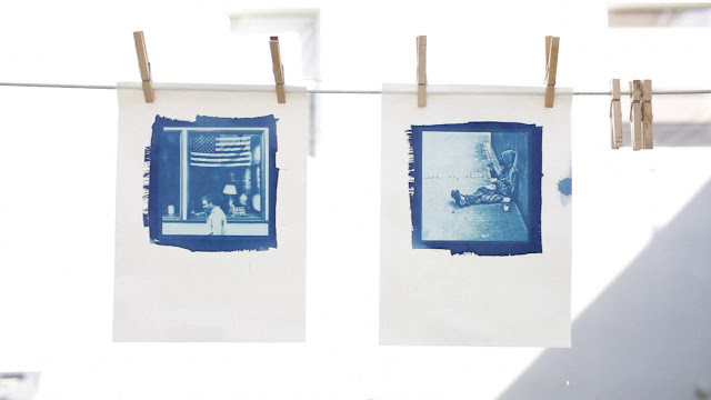 How to do cyanotypes prints with your Iphone