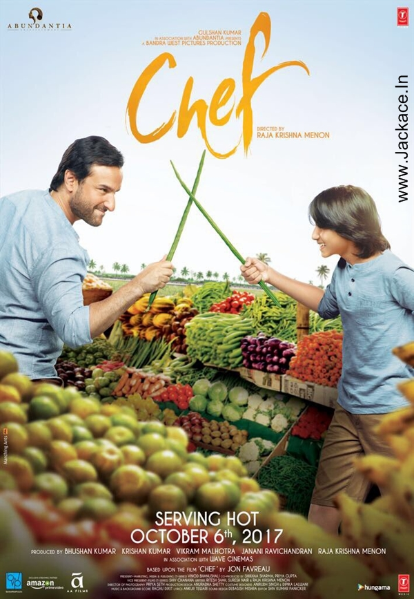Chef First Look Poster 1