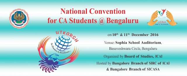 National Convention for Chartered Accountant Students 2016