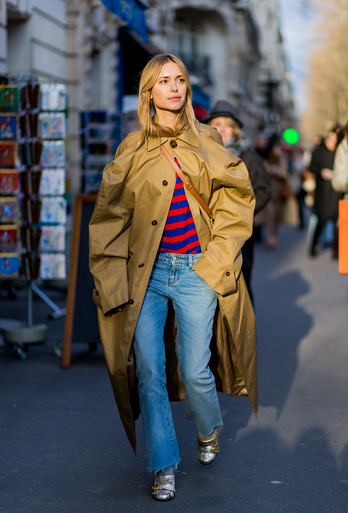 Pernille Teisbaek Paris Fashion Week Street Style - stylecaster