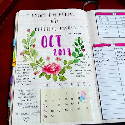 divider bullet journal ideas